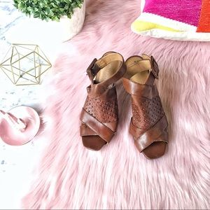 💕CUTE 💕 Franco Sarto Leather Slingbacks Size 8